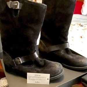 N.D.C Made By Hand Biker Boots size 8